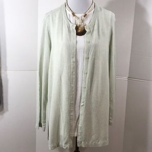 Eileen Fisher 2pc tunic and topper set